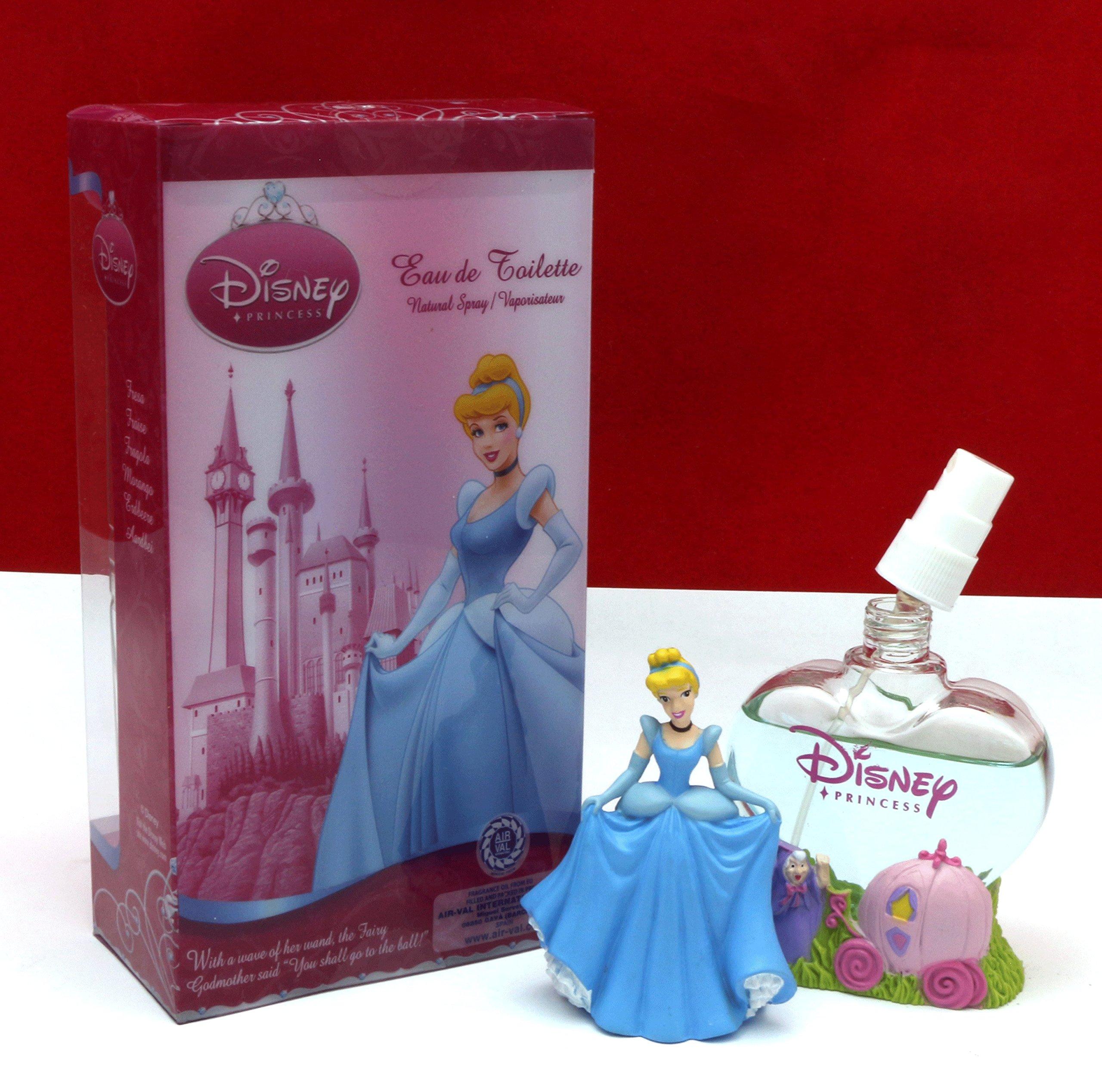 Disney Princess Cinderella (Refillable Bottle) For Girls, Kids Eau De Toilette Spray 1.7 oz / 50 ml