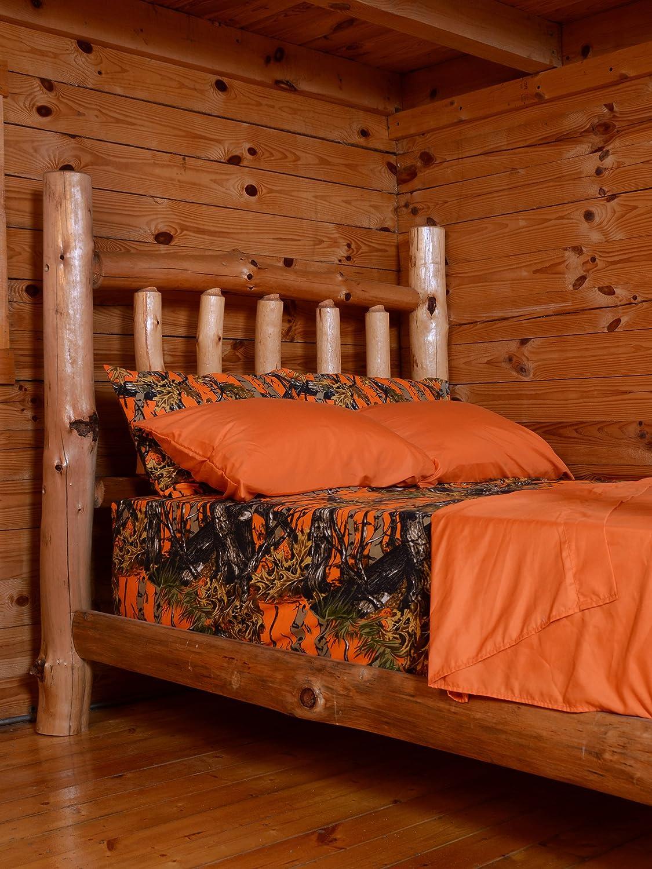 Orange camo bedding - Amazon Com The Woods Premium Microfiber Camo Sheet Set Pink Queen Home Kitchen