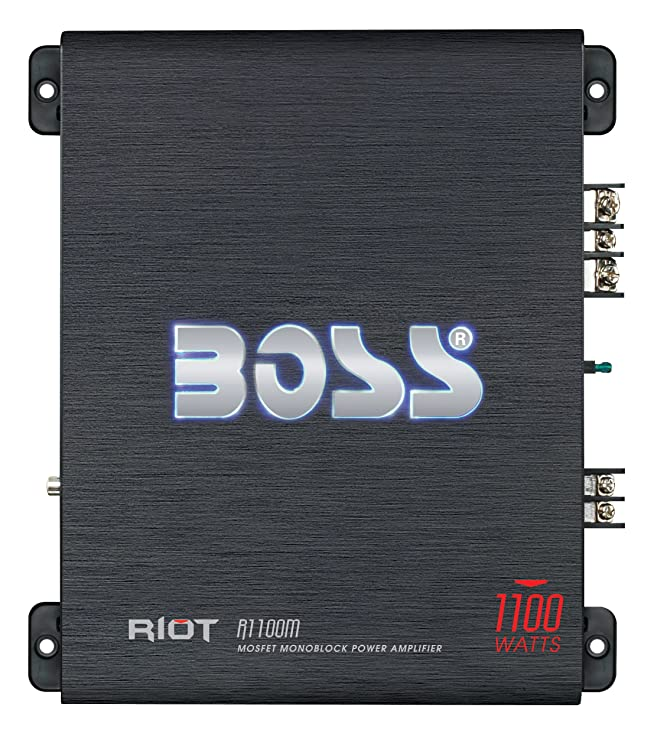Boss Audio R1100 Class A/B Car Amplifier