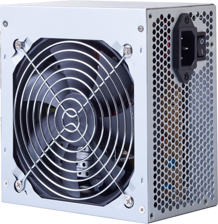 Hiditec PSX - Fuente de alimentación (500 W, 115-230 V, 50-60 Hz ...