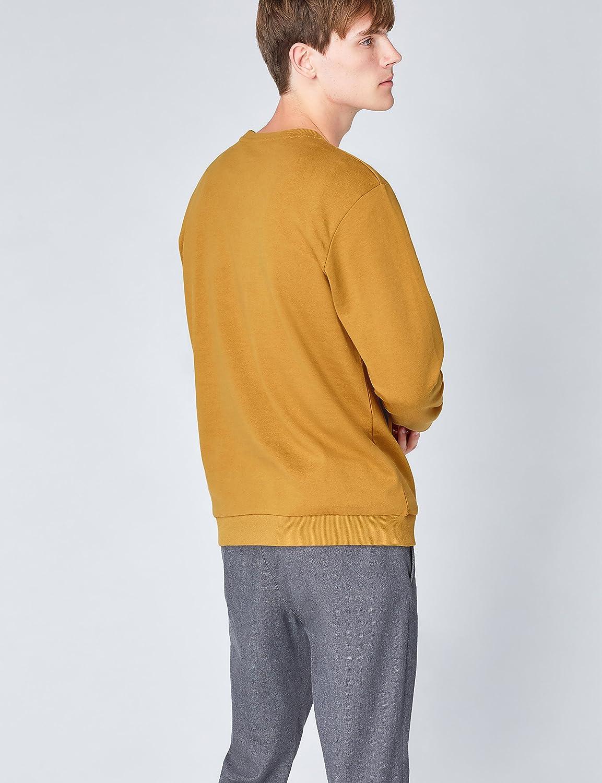 find Mens Berlin Print Crew Neck Sweatshirt