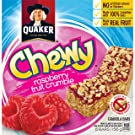 Quaker Chewy Raspberry Fruit Crumble, 12 Count