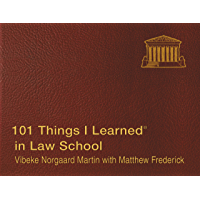 101 Things I Learned  in Law School (English Edition)