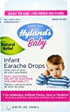 Hyland's Baby Infant Earache Drops, Safe and Natural Ear Pain and Irritability Relief for Babies, 0.33 Ounce