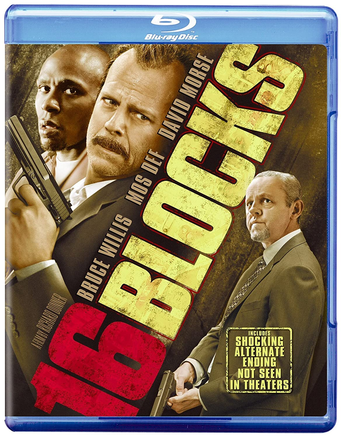 16 Blocks [Blu-ray] Bruce Willis David Morse Mos Def Richard Donner