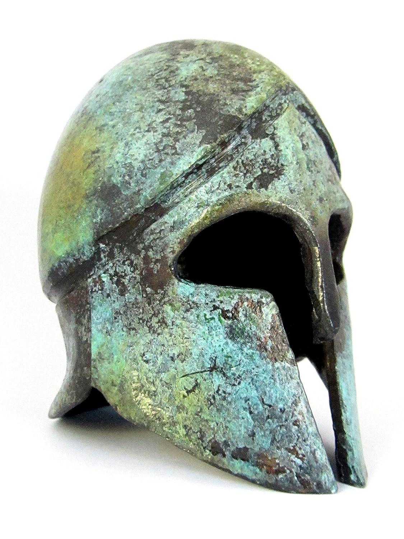 Ancient Greek Corinthian Bronze Museum replica del casco (1378) IconsGr