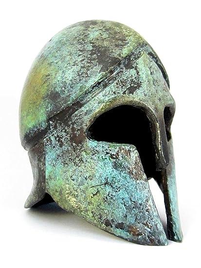 Griego antiguo Bronce Museo réplica de casco corintio (1378)