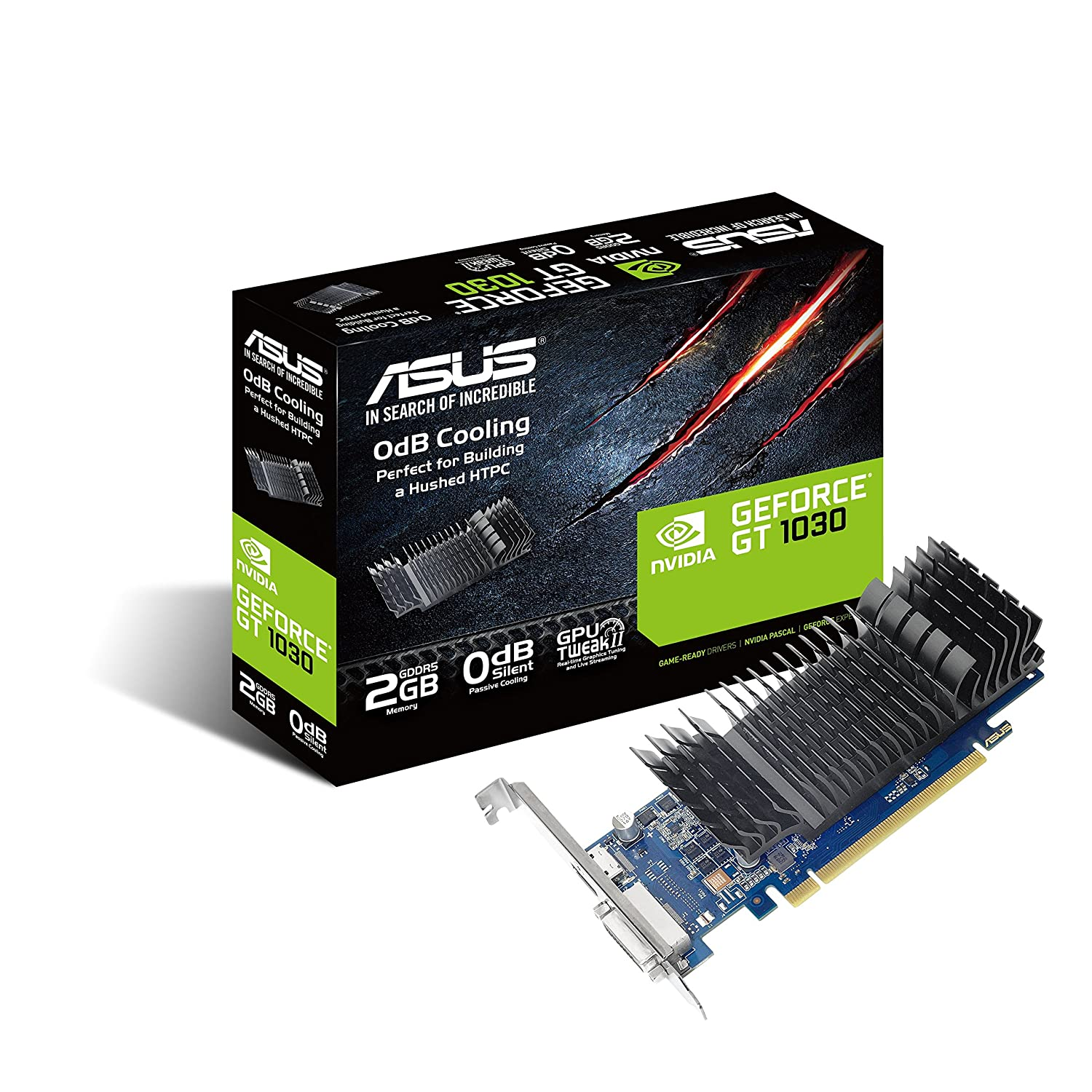 Buy Asus Geforce Pascal Gt 1030 2gb Gddr5 64bit Graphics Back Gallery For Parallel Circuit Definition Kids Card Silent Htpc Build With I O Port Brackets Online At Low Prices In India