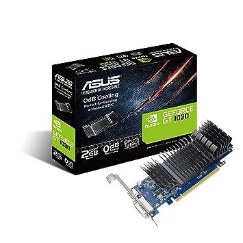 ASUS GT1030-SL-2G-BRK GeForce GT 1030 2GB GDDR5 - Tarjeta gráfica (NVIDIA, GeForce GT 1030, 1920 x 1080 Pixeles, 1266 MHz, 1506 MHz, 2 GB)