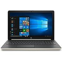 "HP 15-da0064ns - Ordenador portátil de 15.6"" HD (Intel Core i5-8250U, 12GB RAM, 1TB HDD, NVIDIA GeForce MX110-2GB, Windows) Dorado - Teclado QWERTY Español"