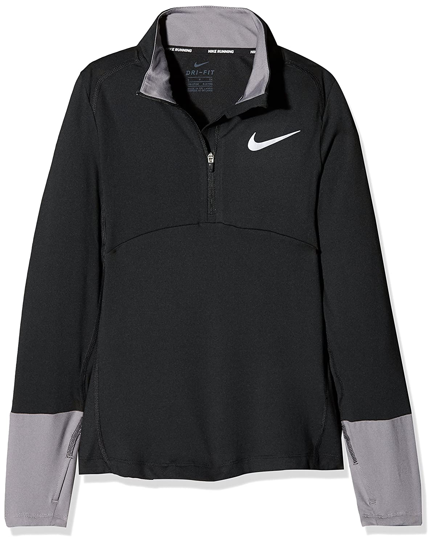 Nike Girl's Dri-fit Element Long-Sleeve Top