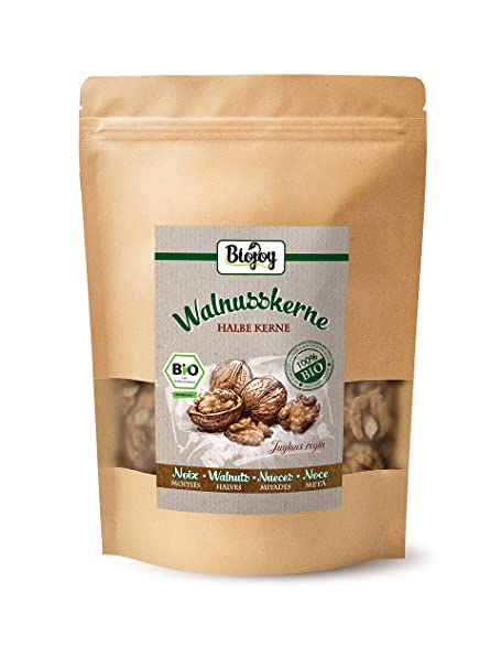 Biojoy Nueces peladas Ecologico | 100% calidad Premium BIO | cultivo controlado | Juglans regia