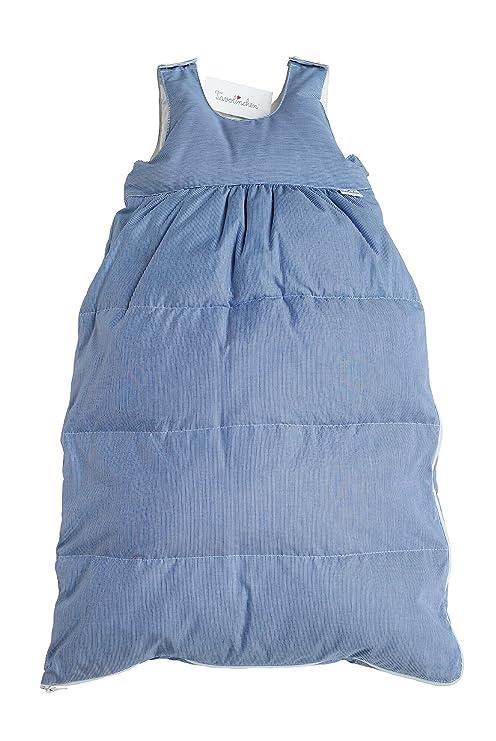 """tavolinchen Saco de dormir (Plumón boludastreifen """", Azul Marino Y Blanco,"""