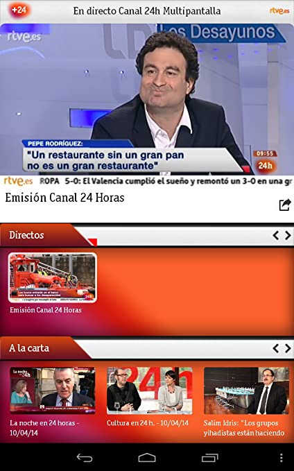 Tve 24h en directo online dating