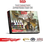The Army Painter Dungeons and Dragons Official Paint Line Adventurer's Paint Set