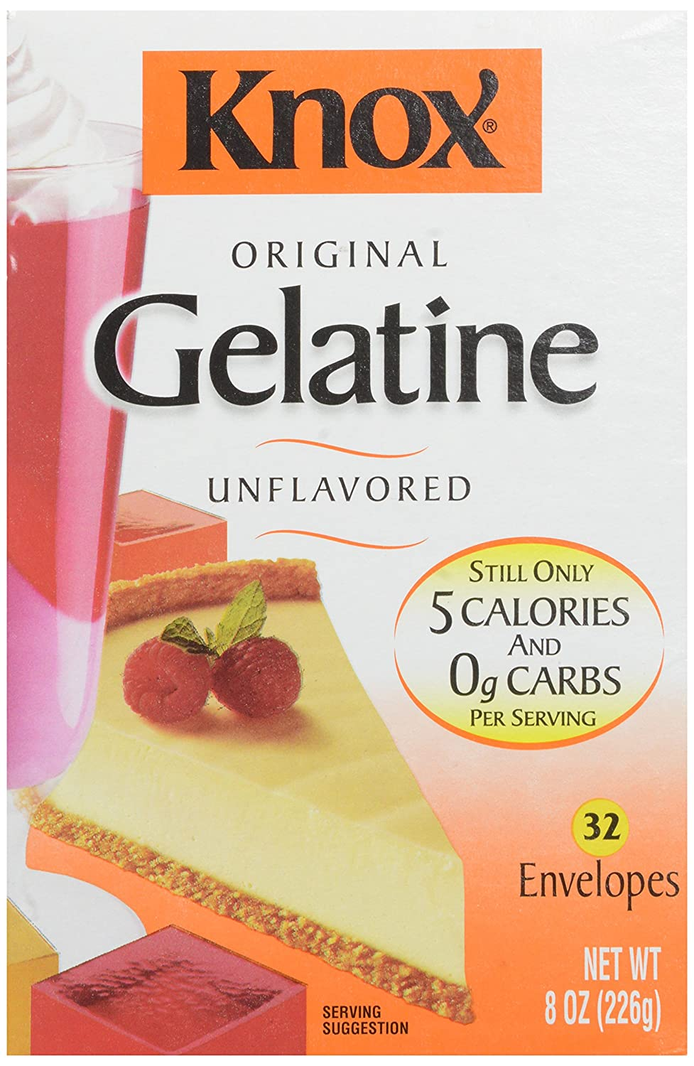 Knox Gelatin Unflavored 8 oz - 32 Pieces: Amazon.in: Grocery ...