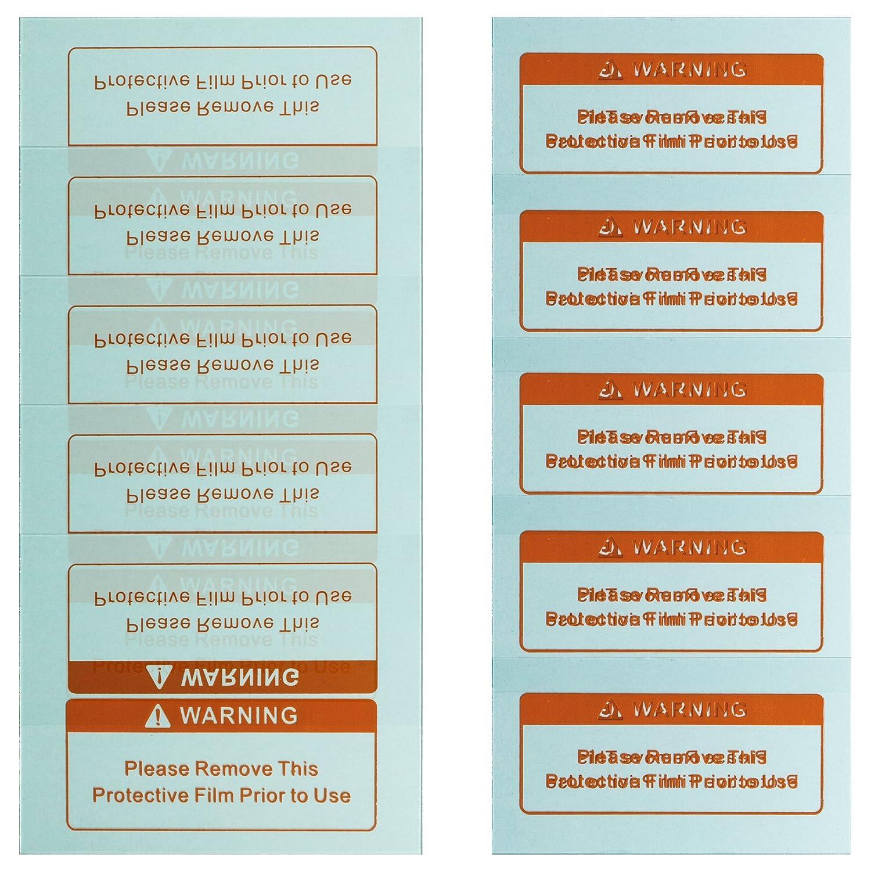 awm® WH02C Automatik Schweißhelm Ersatzgläser 5x Außen (123 mm x 98 mm) 5x Innen (108mm x 58mm) Ersatzscheiben Vorsatzscheiben Schutzscheiben awm®