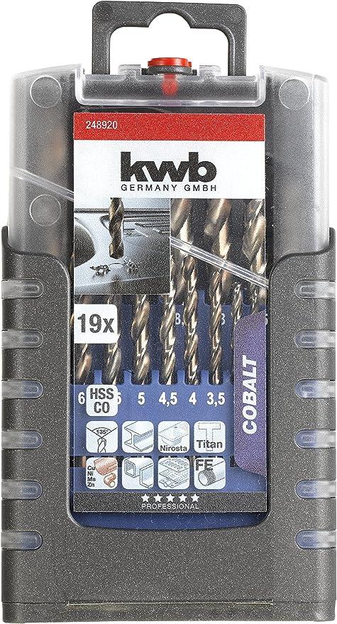 248-695 KWB 1/mm in Diameter Metal Drill Bit HSS-E 248610