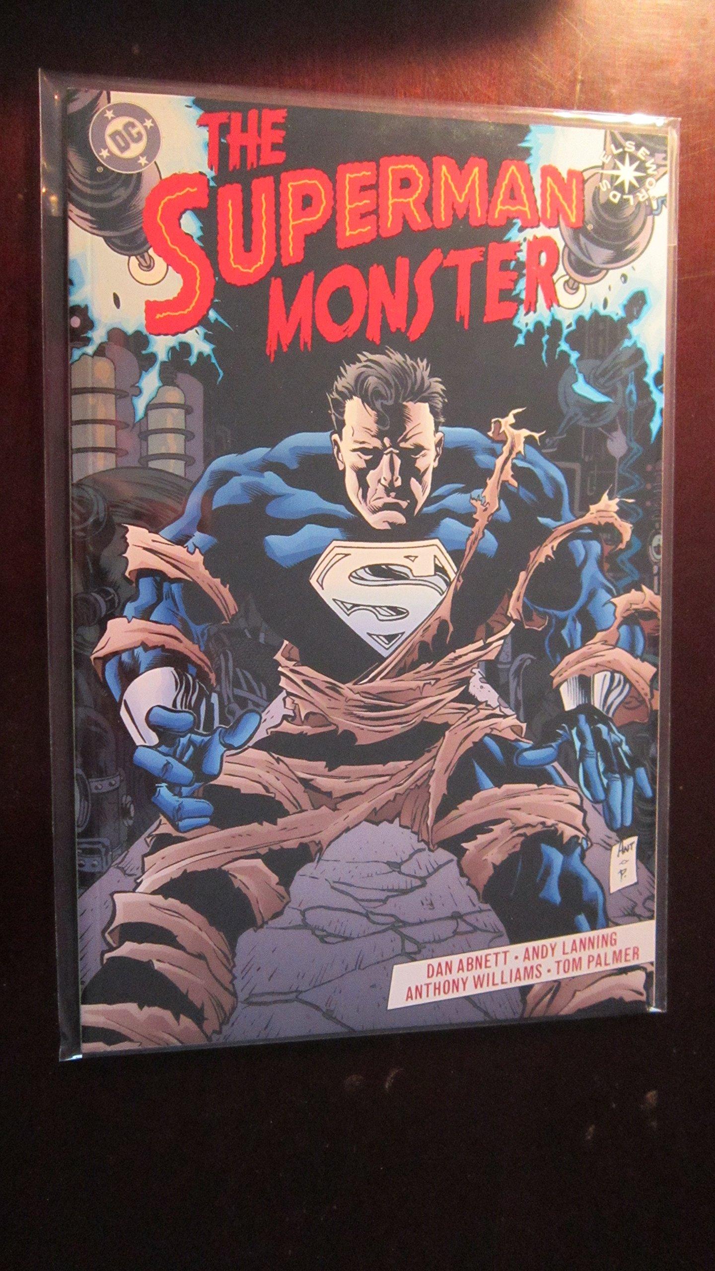 The Superman Monster (elseworlds): Dan Abnett, Andy Lanning, Anthony  Williams, Tom Palmer: Amazon: Books