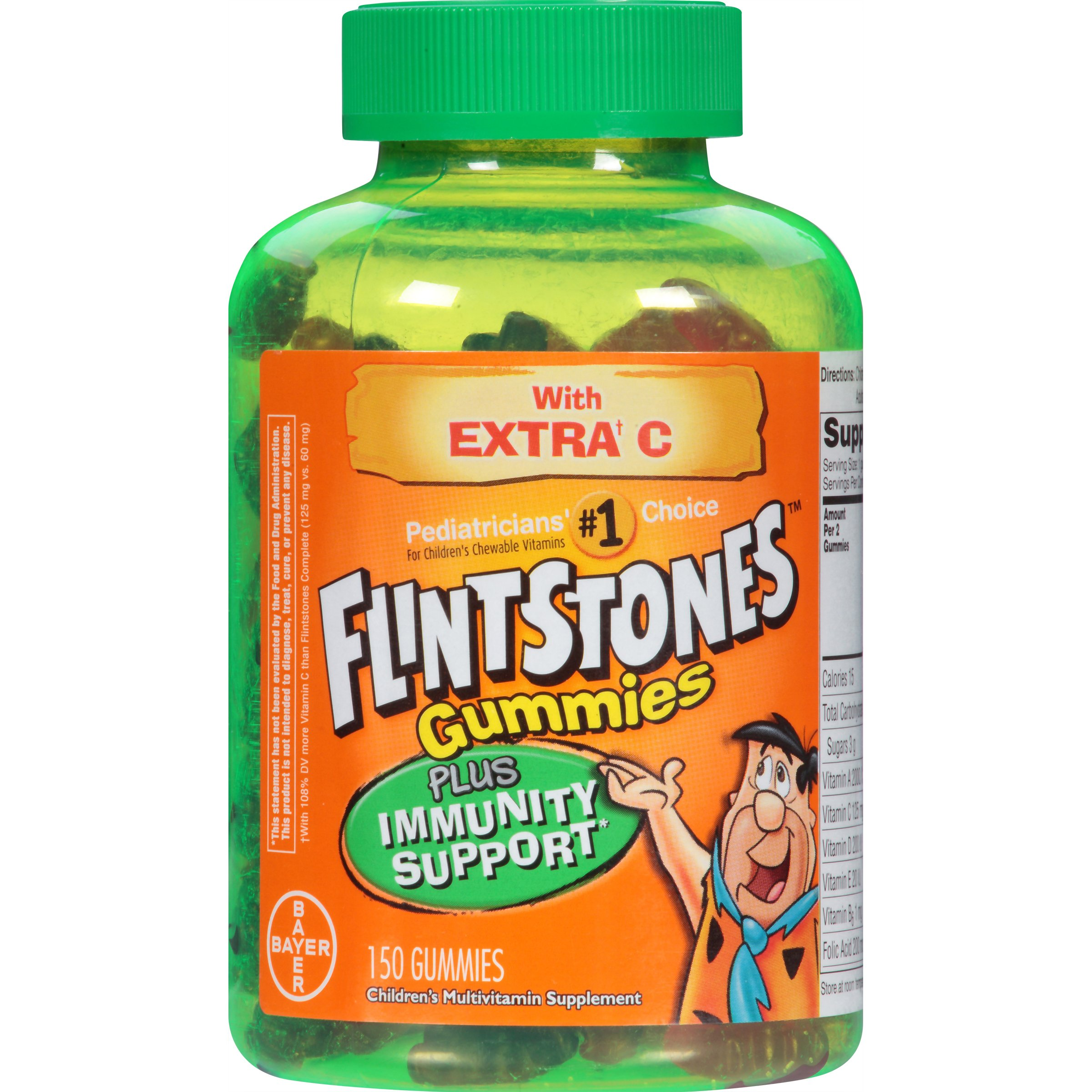 Flintstones Gummies plus Immunity Support, 150 Count
