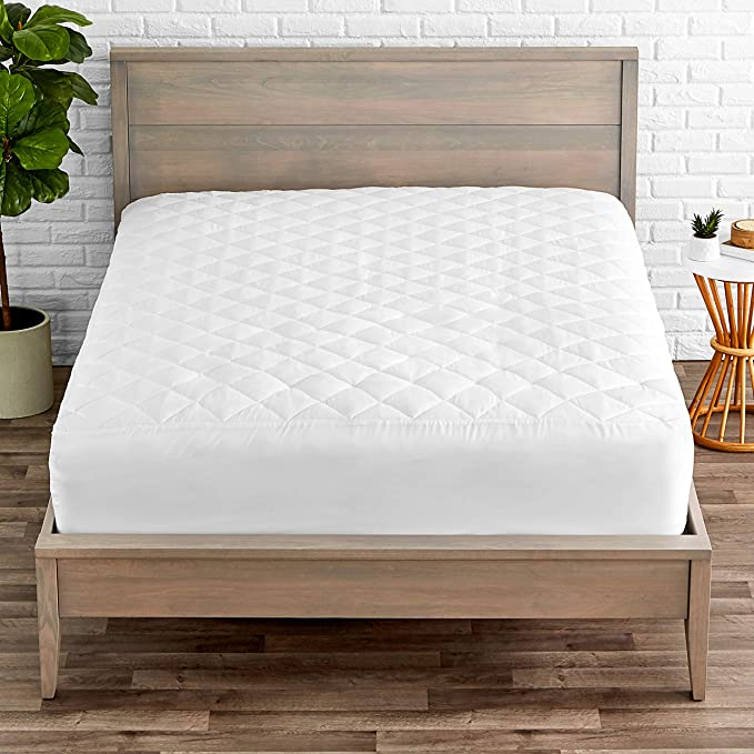 S//KS//D//Q//K Size Cotton Quilted Aus Made Fully Fitted Mattress Protector//Topper