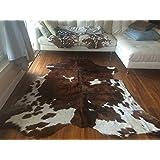 Superior Quality Rodeo Cowhide Rug Size 5x7 Feet(150cmx 210cm) TC5X7