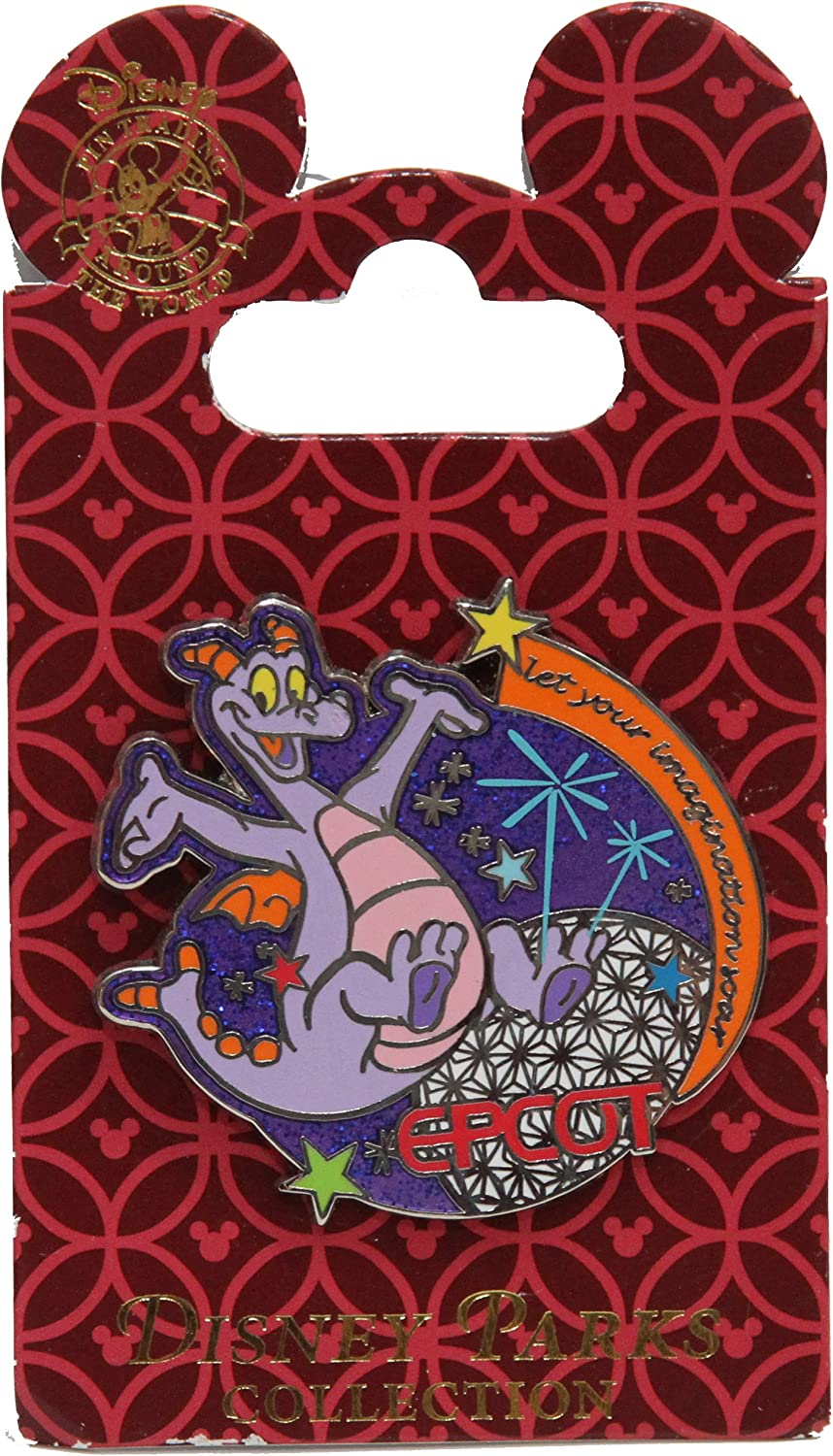 Disney Pin #74224: WDW - Figment in Epcot - Let Your Imagination Soar