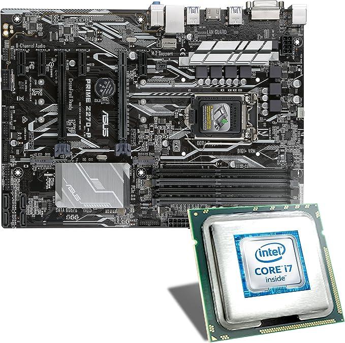 Intel Core I7 6700k Asus Prime Z270 P Mainboard Computer Zubehör