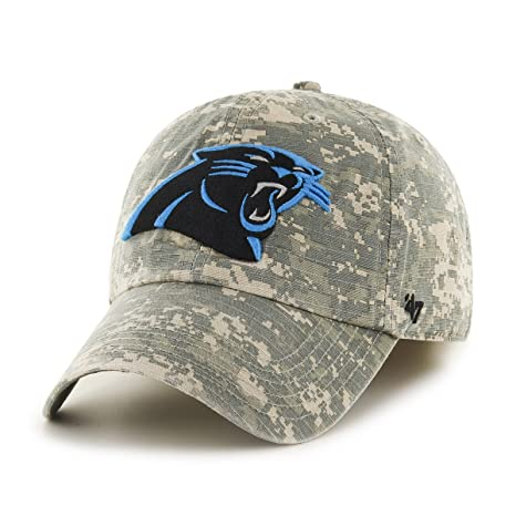 e1c211eb1223f Amazon.com    47 NFL Carolina Panthers Officer Franchise Fitted Hat ...