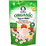 Gerber Organic Yogurt Melts Fruit Snacks, Banana and Strawberry, 1 Oz