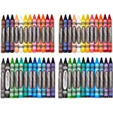 AmazonBasics Jumbo Crayons - 24 Assorted Colors, 2-Pack