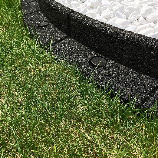 Jardín Gear Borde de jardín Flexible Reciclado Respetuoso con el ...