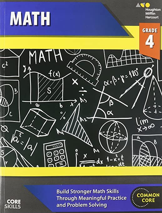 Math Worksheets houghton mifflin math worksheets grade 5 : Steck-Vaughn Core Skills Mathematics: Workbook Grade 4: STECK ...