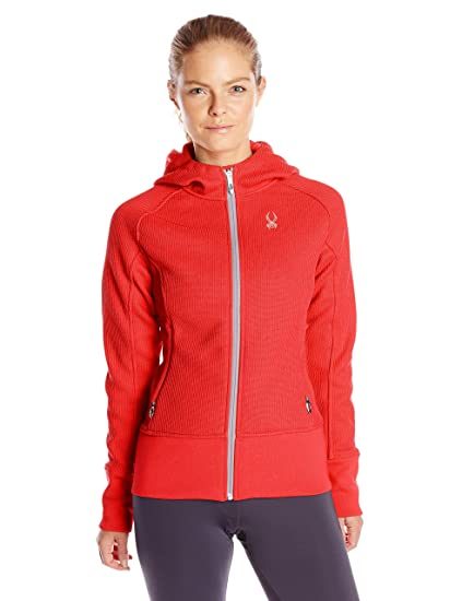 04f7f7727 Amazon.com: Spyder Women's Ardent Full-Zip Hoodie Sweatshirt: Clothing