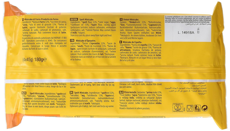 Probios Break&Bio Minicake de Espelta - 12 paquetes: Amazon.es: Alimentación y bebidas