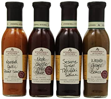 Amazoncom Stonewall Kitchen Top Grill Sauce Collection