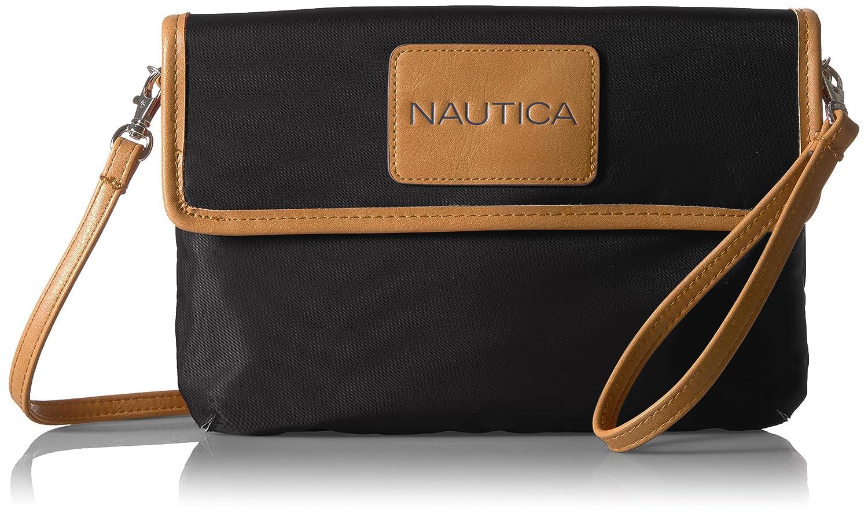 2aae458bd1f38e Nautica All RFID Blocking Mini, Black: Handbags: Amazon.com