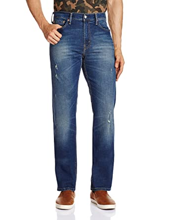 34ff431df09 Levi's Men's (513) Slim Straight Fit Jeans: Amazon.in: Clothing ...
