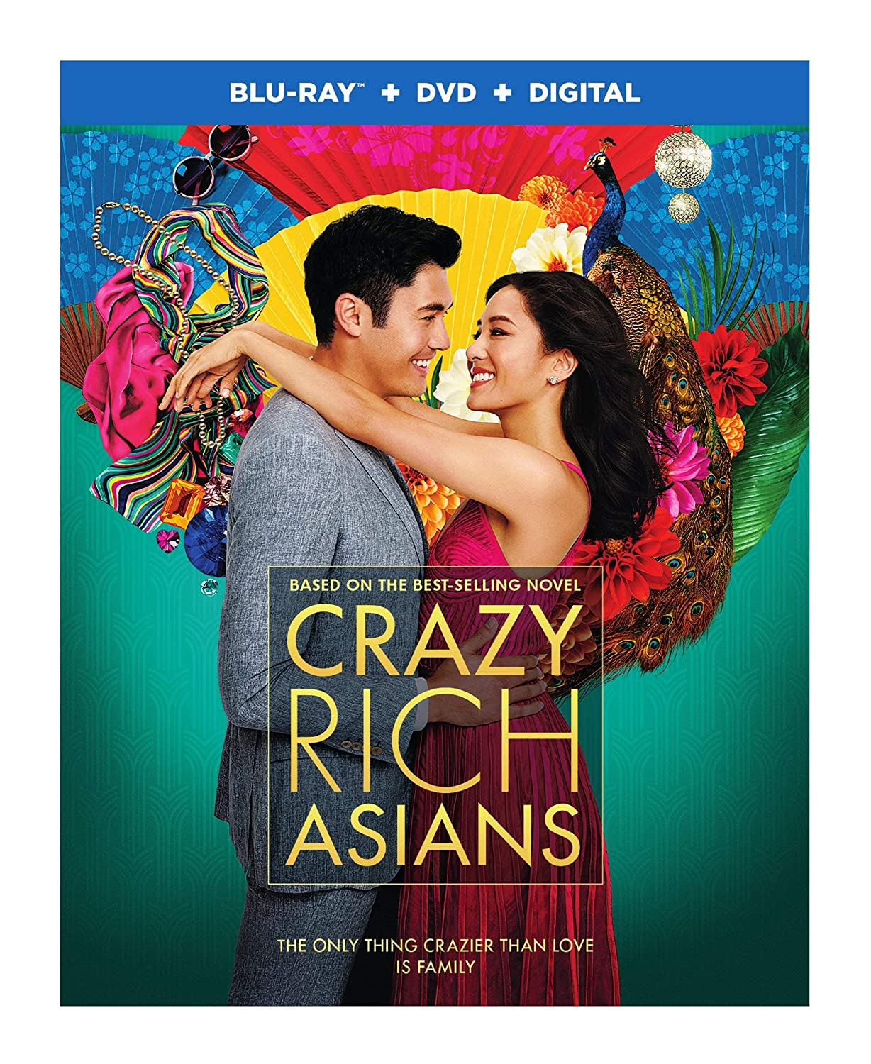 Amazon com: Crazy Rich Asians (Blu-ray + DVD + Digital Combo