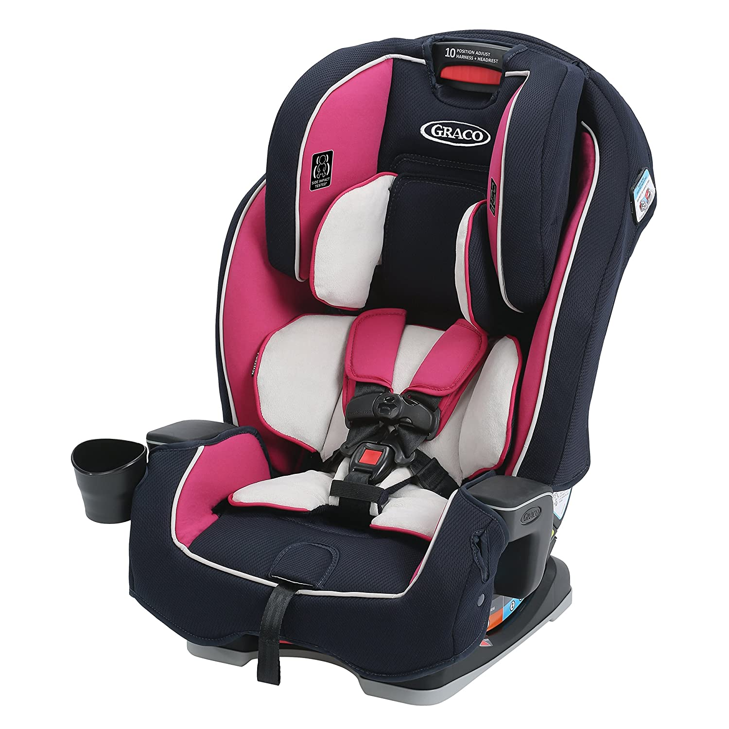 Graco Milestone All-in-1 ConvertibleCar Seat, Ayla, One Size
