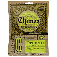 Chimes Ginger Chews, Original, 5 Ounce (Pack of 1)