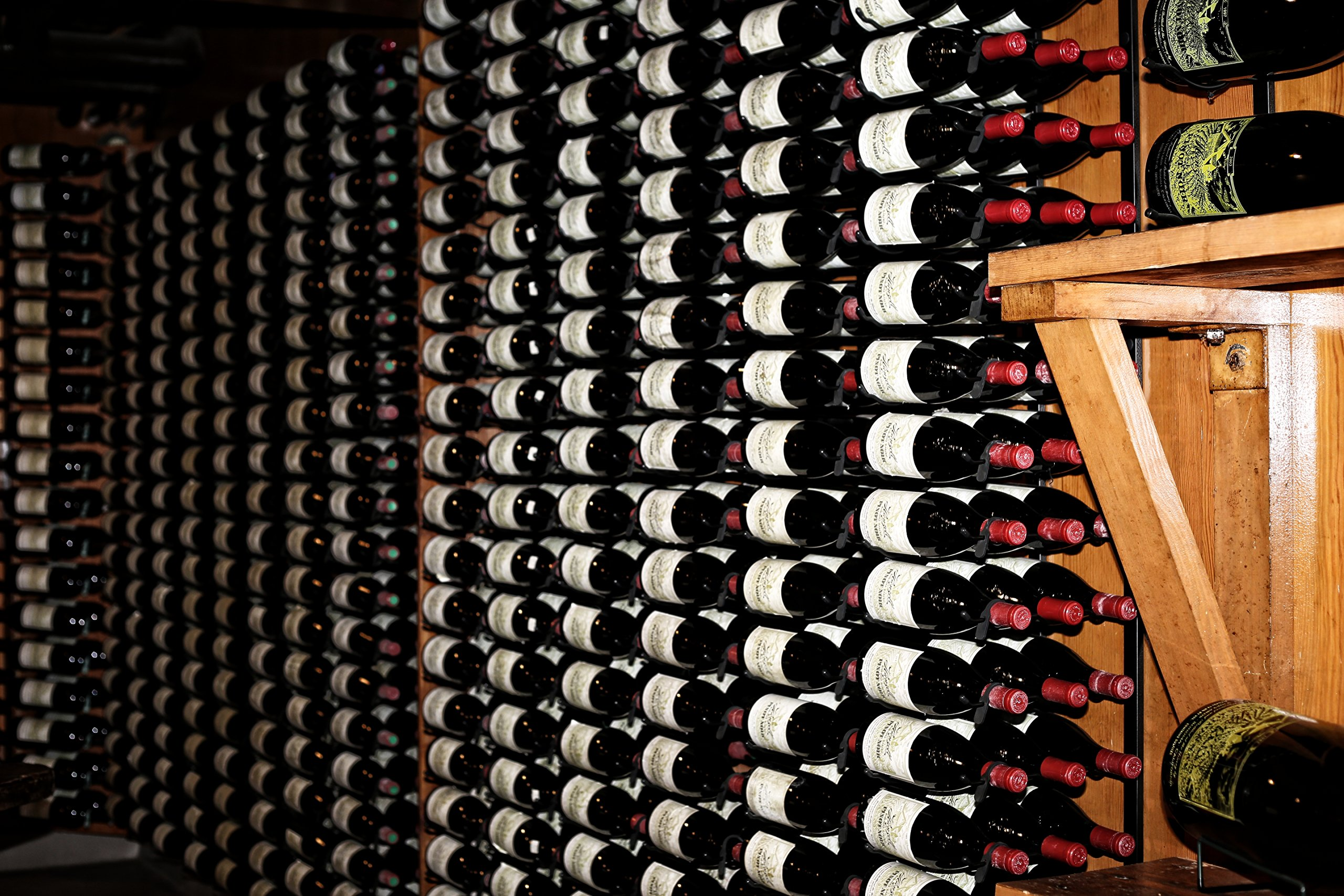 Photo Art Print--Row Upon Row of Vintage Wine