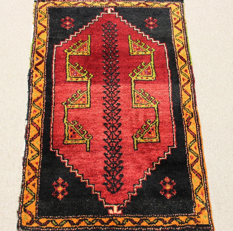 2x3 rug Bath mat 1.6x2.5 Turkish doormat purple rug Kitchen throw carpet Bathroom rug Door mat Vintage small area rug One-of-a-Kind