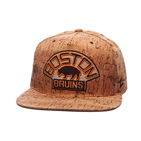 best sneakers 40812 f2f47 ... get zhats boston bruins cork dynasty adjustable snapback cap nhl flat  bill one size baseball bdc8d