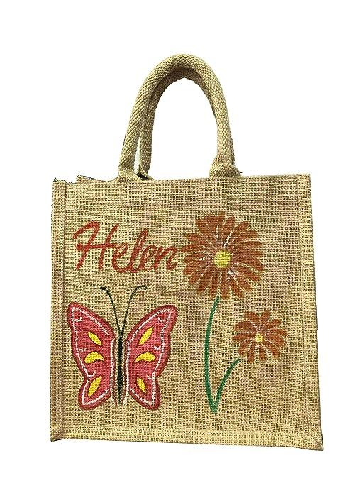 Bolsa de regalo de arpillera de yute personalizada, bolsa de ...