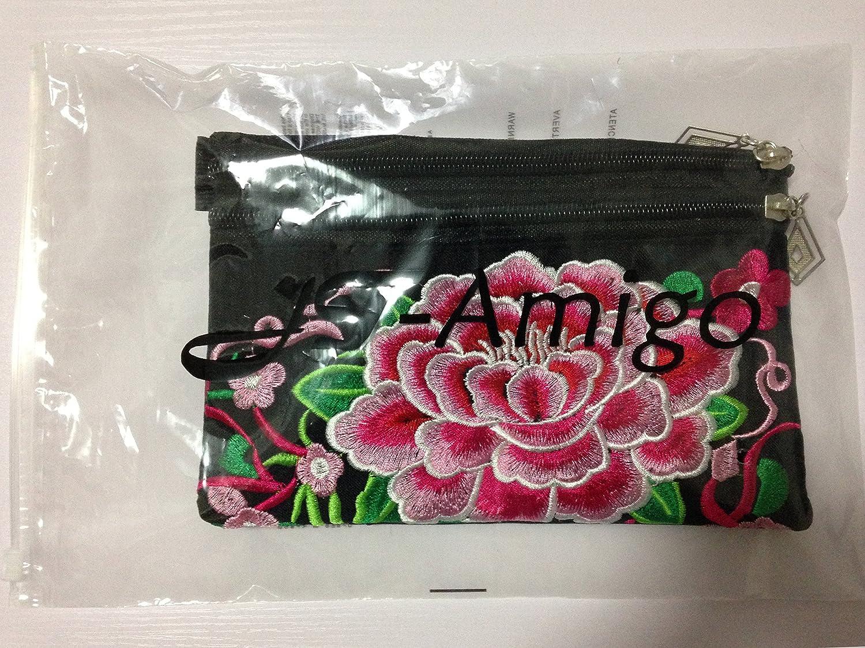JT-Amigo Fanny Pack Waist Pack Waist Bag Flower Pattern