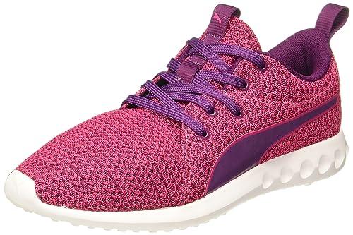 16d4f63a635 Puma Women s Carson 2 Knit WN s Love Potion-Dark Purple Running Shoes-4 UK