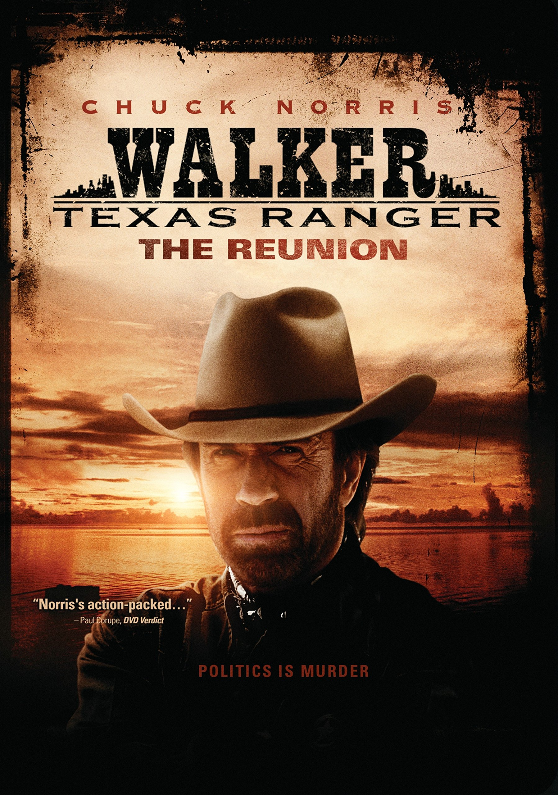 DVD : Walker Texas Ranger: The Reunion (Full Frame, , Sensormatic)
