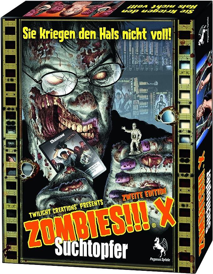 Pegasus 54210G Zombies!!! X: Suchtopfer - Juego de Mesa ...