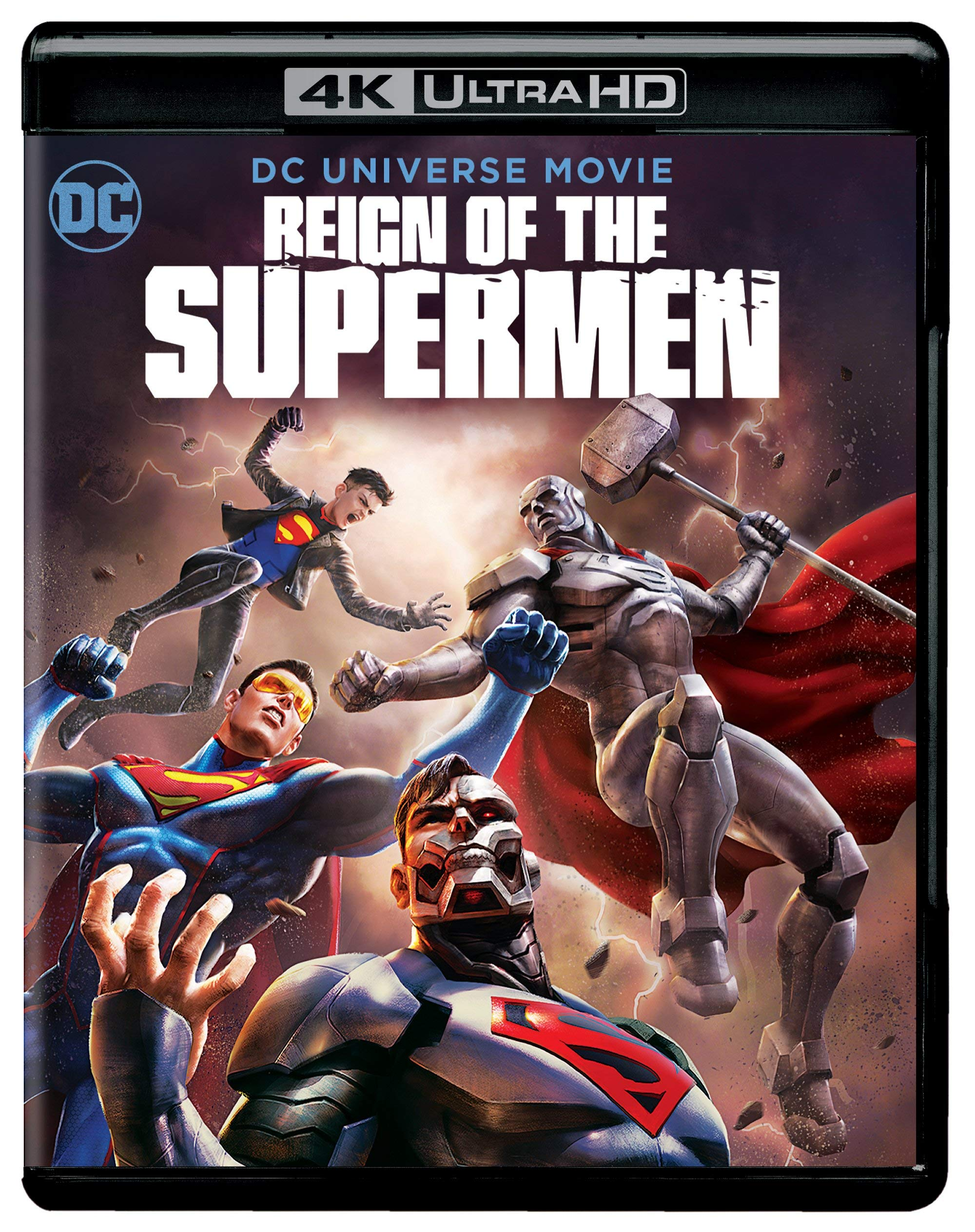 4K Blu-ray : Reign Of The Supermen (Black, With Blu-ray, 4K Mastering, Digital Copy, Dolby)